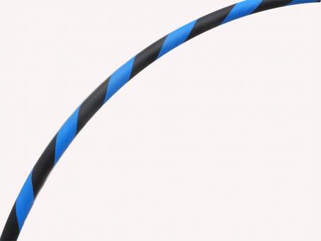 Anfänger Hula Hoop Reifen Supergrip blau-schwarz