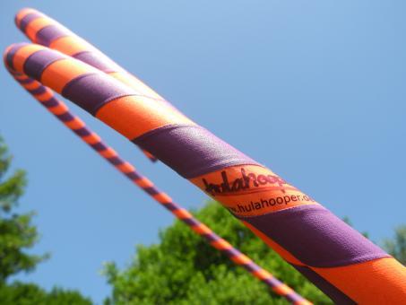 anf nger hula hoop reifen supergrip pansy flower orange. Black Bedroom Furniture Sets. Home Design Ideas