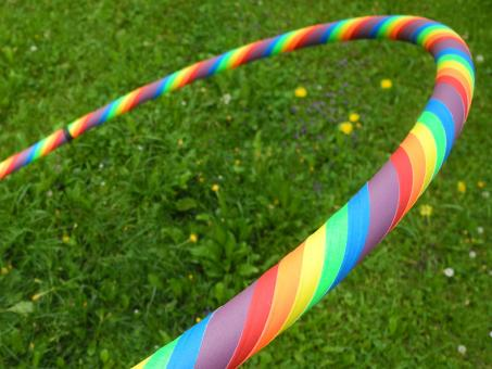 "Fitness Reifen Supergrip ""Rainbow"""