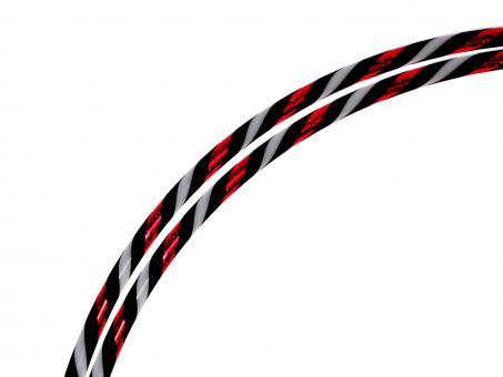 """Zirkushoop FLEXpert 1,7 cm """"RedStripes"""" 90 cm"""
