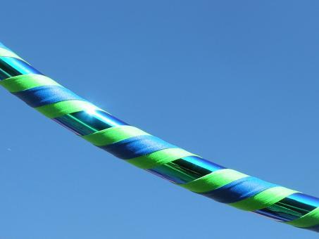 "Hula Hoop ""Colorchange Smaragd"" uv-neongrün 85 cm"