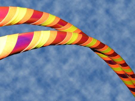 "Hula Hoop ""Colorchange Lava"" orange-gelb 80 cm"