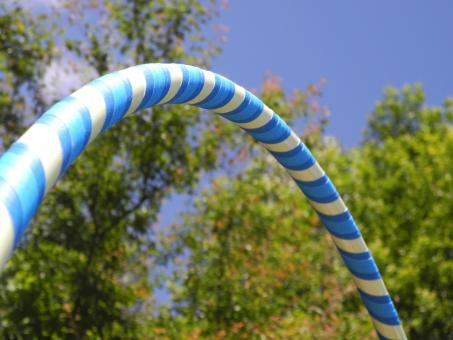 "Kinder Hula Hoop ""Glow Star"" blau"