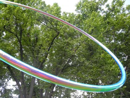 Polypro Show-Hoop Colorchange Aurora