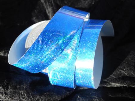 "MetallicTape ""RainbowGloss"" blau"