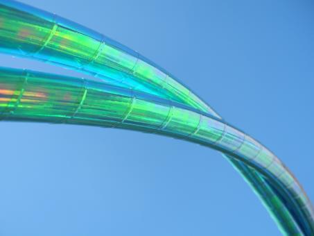 Show-Hoop thin 1,7 cm Colorchange Lagoon