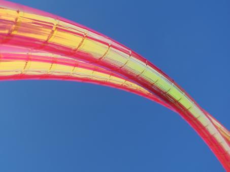 Show-Hoop thin 1,7 cm Colorchange Golden Magenta 80 cm