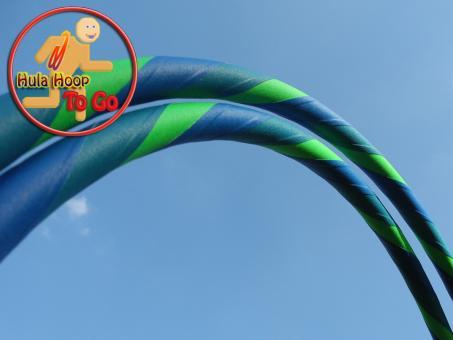 Travelhoop faltbar Supergrip blau-türkis-grün 100 cm