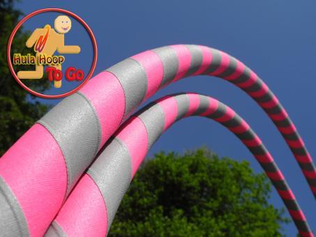 "Travelhoop faltbar Supergrip ""pink-grau"""