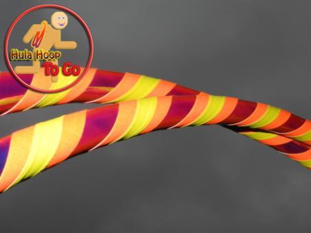 "Travelhoop faltbar ""Colorchange Lava"" orange-gelb"