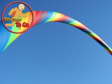 "Travelhoop faltbar ""Supergrip"" Rainbow 100 cm"