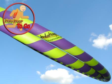 Travelhoop faltbar Supergrip lila-gelb 100 cm