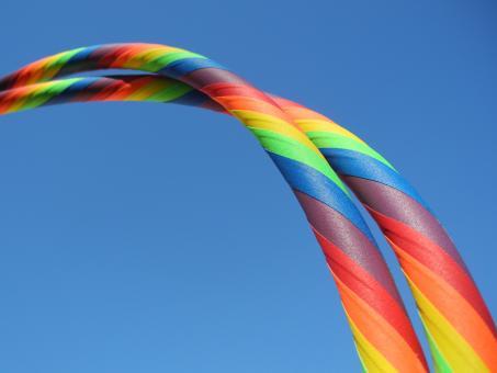 anf nger hula hoop reifen supergrip rainbow im hoopshop online bestellen und kaufen. Black Bedroom Furniture Sets. Home Design Ideas