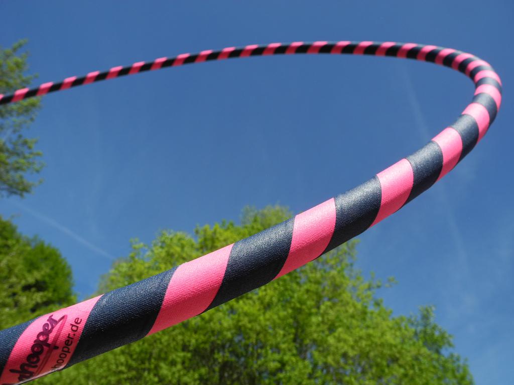 anf nger hula hoop reifen supergrip pink dunkelblau im. Black Bedroom Furniture Sets. Home Design Ideas